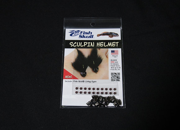 Fish Skull Sculpin Helmet size Mini