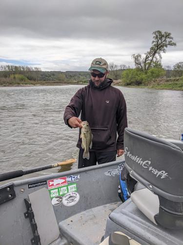 largemouth bass genesee river lure fishi