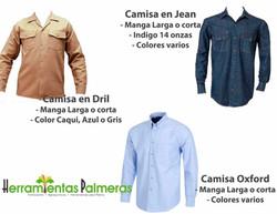 Camisas Dotación
