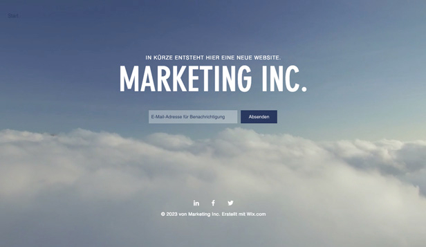 Alle Designvorlagen website templates – Marketing