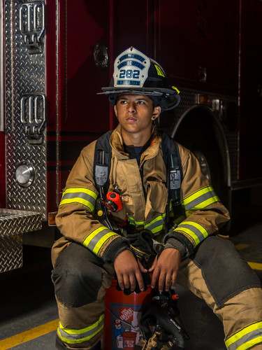 Firefighters and Police Portraits