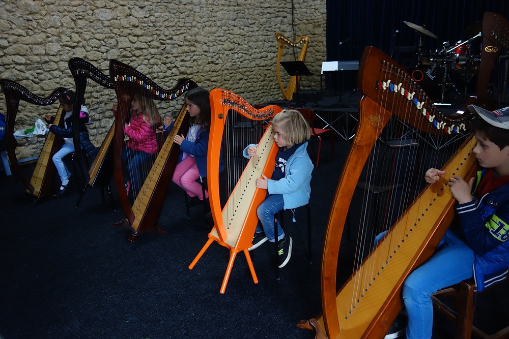 Atelier découverte de la harpe