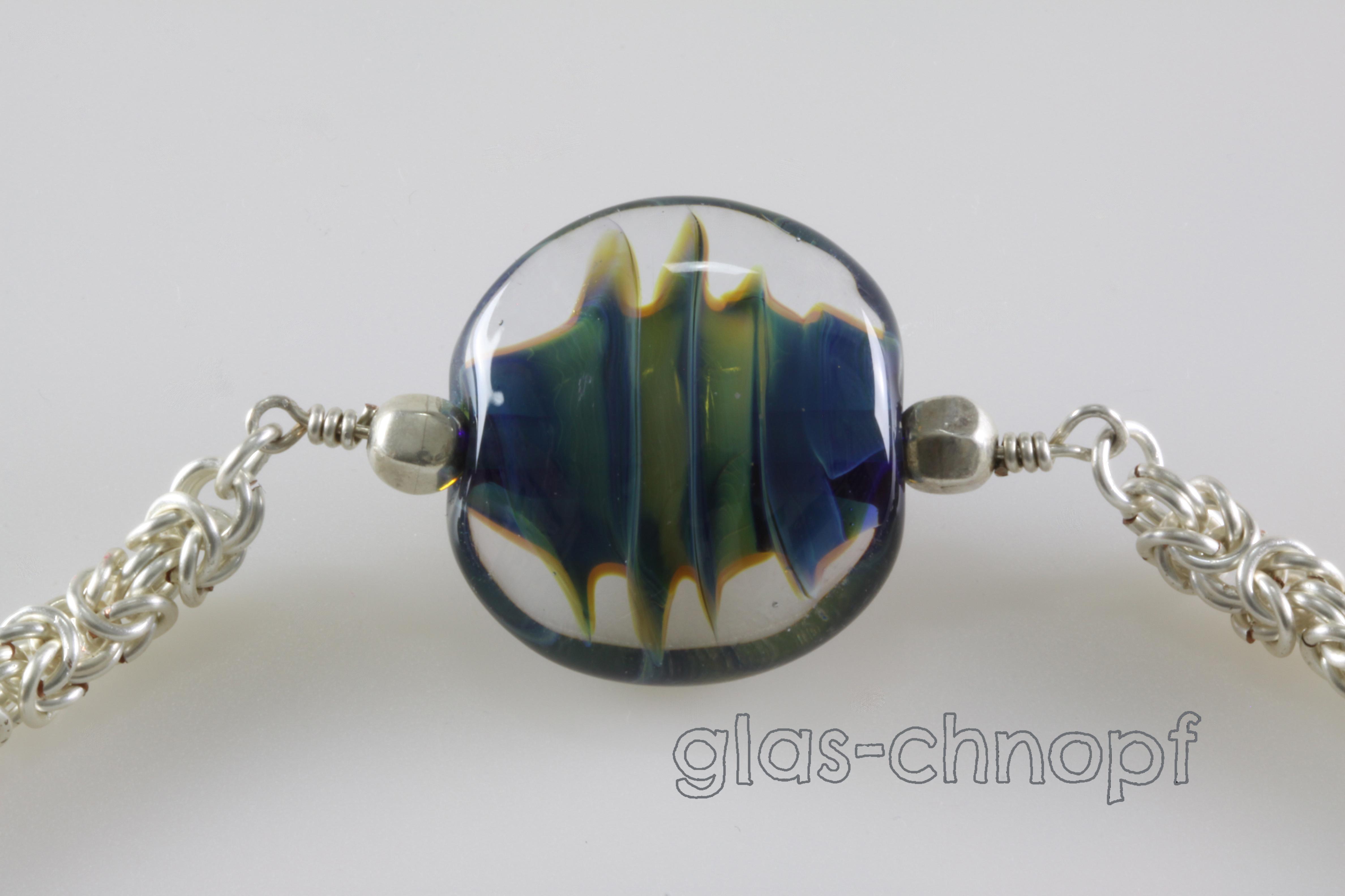 Silberglas-Spirale