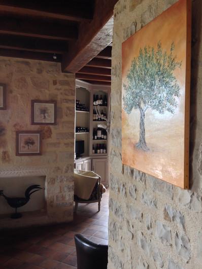 Décoration, l'olivier