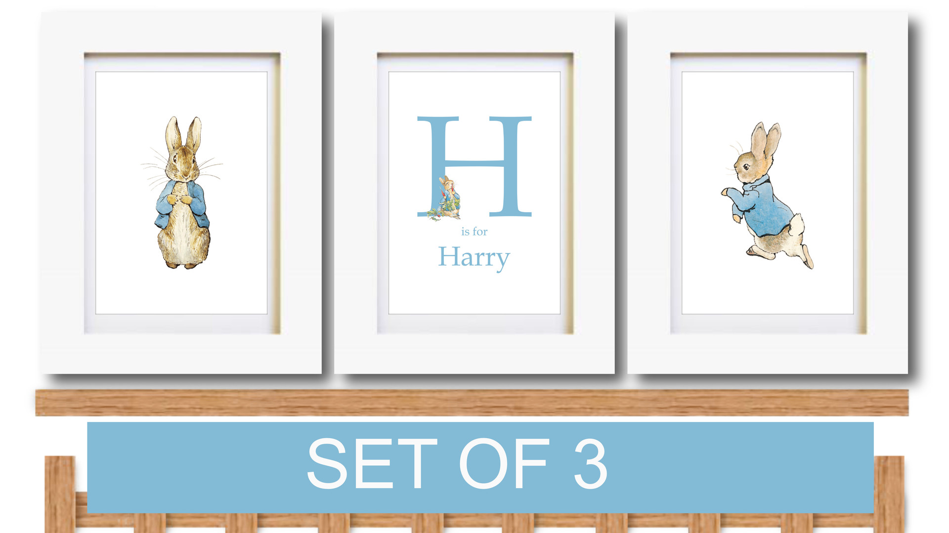 Peter Rabbit Set of 3