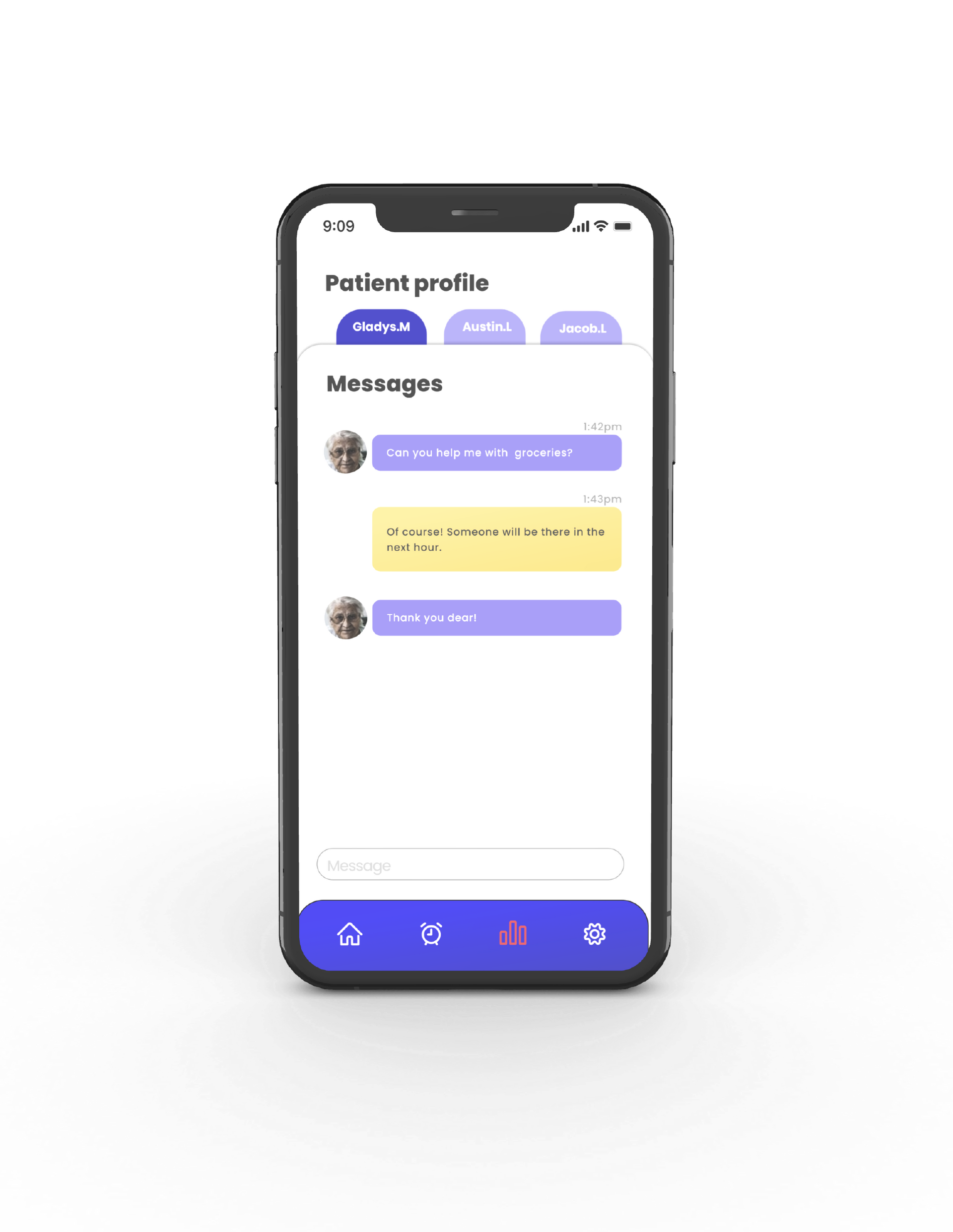 Messages Interface