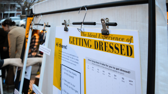 Design Research: The Ideal Experience of Getting Dressed