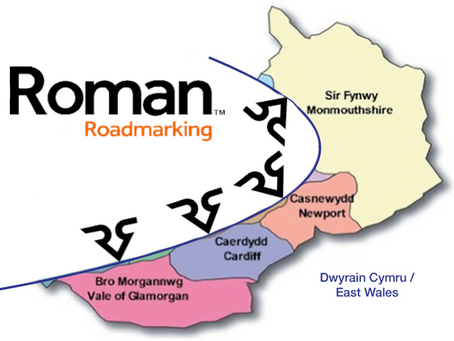 Number 1 in South East Wales for road marking!