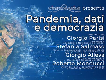 Seminario Pandemia, dati e democrazia