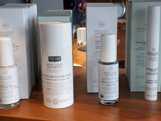 New Intelligent Nutrients Skin Care Products and an Express Facial at NJ's!