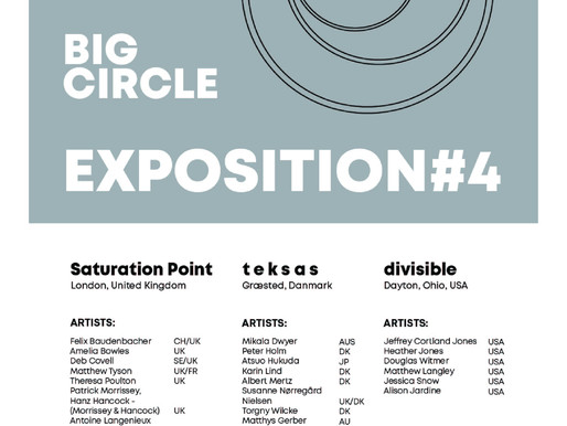 BIG CIRCLE EXPOSITION#4         [Deep and Wide]  (M17 Contemporary art Center)