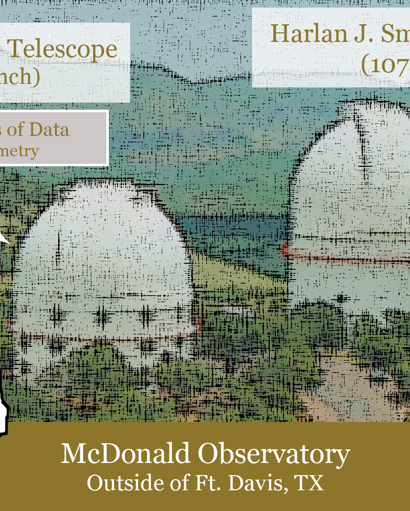McDonald  Observatory Graphic