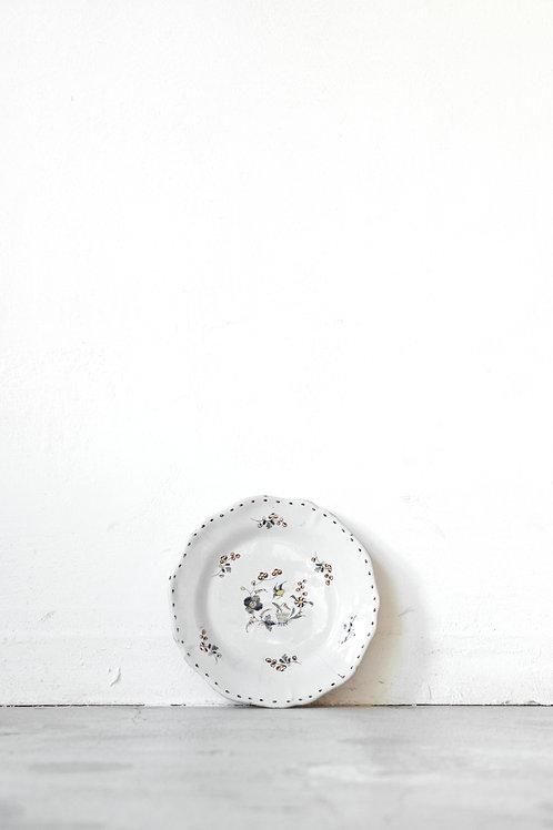 色絵花鳥文皿