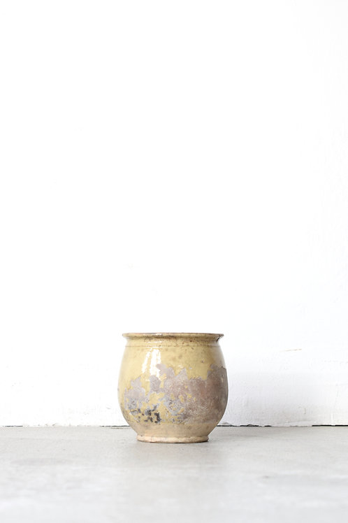 南仏黄釉壺