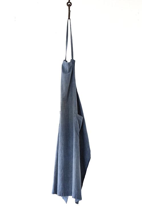 Indigo apron