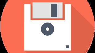 Formatting a 720K floppy disk on Windows XP or newer