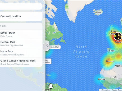 How to view Snapchat's snap map on PC?