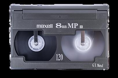 8mm Maxell Cassette Hi8 Video8