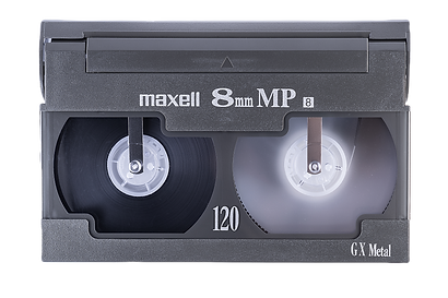 8mm Maxell Cassette Hi8 Video8