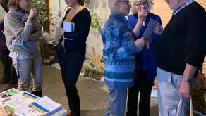 Obfelden - Am Dorfbasar 2019 die Idee der Sorgenden Gemeinschaft bekannt gemacht