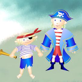 Pirates Lena & Zoe