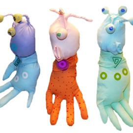 Rubber Glove Aliens