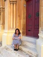 Steps in Mdina