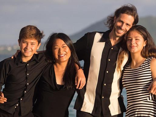 'Camacu', una banda familiar nord-americana que canta en català