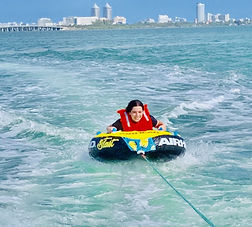 Tubing in Miami With Aquarius Boat Rental