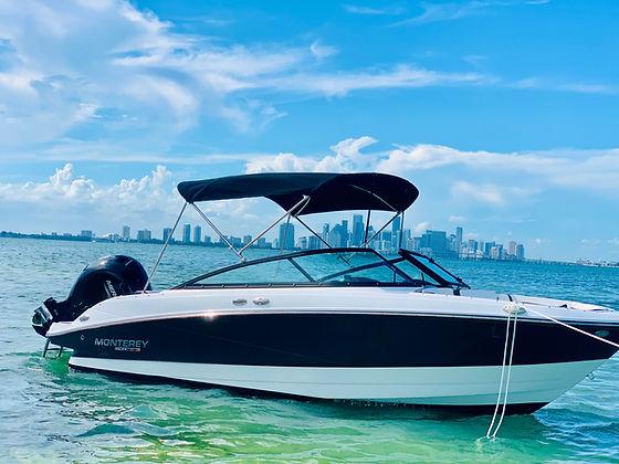 Aquarius Brand new boat for rent Miami 2