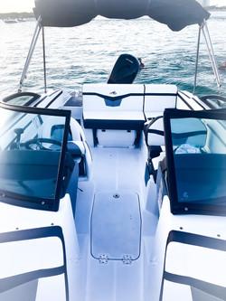 Aquarius Brand new boat for rent Miami 8