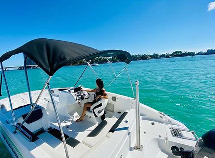 Miami Sand Bar - Amazing Boat Boat Tours Miami wi
