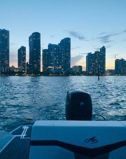 Aquarius Brand new boat for rent Miami 9