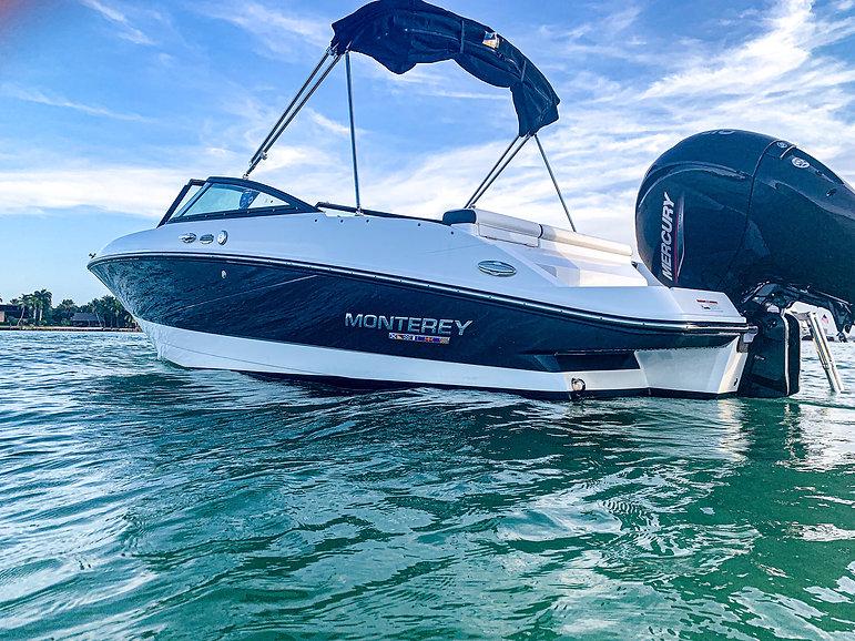 Aquarius Brand new boat for rent Miami 1
