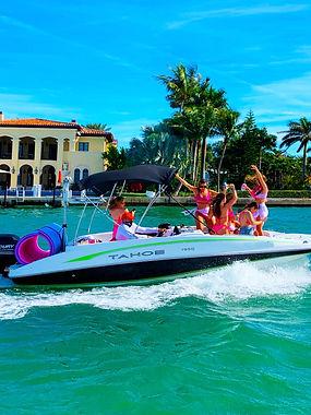 best boat parties with Aquarius Boat Ren
