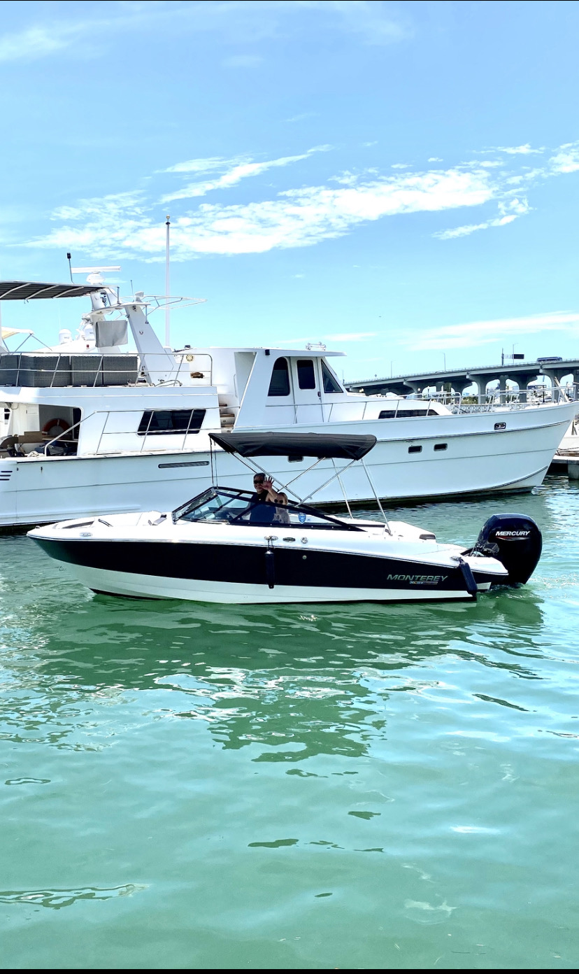 Monterey - Aquarius Boat Rental Miami