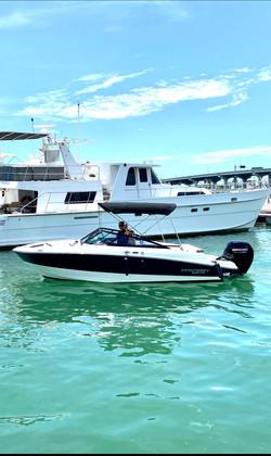 Monterey - Aquarius Boat Rental Miami