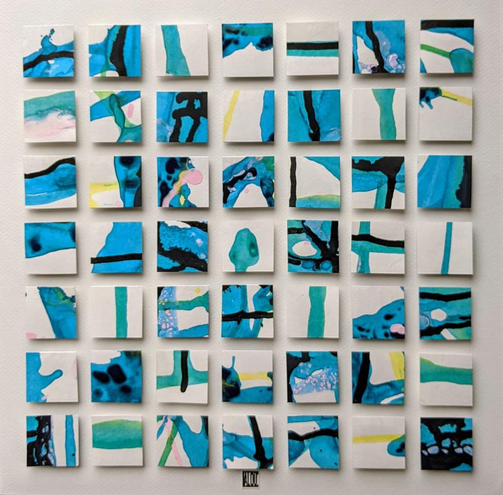 Plongeon turquoise