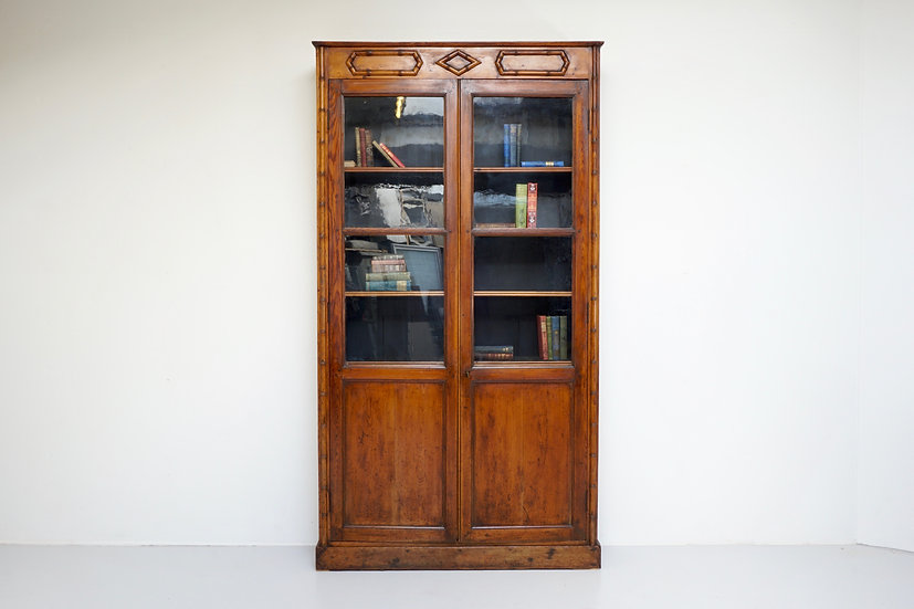 Faux Bamboo Bookcase