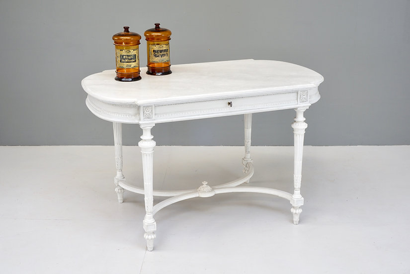 Painted Stretcher Table
