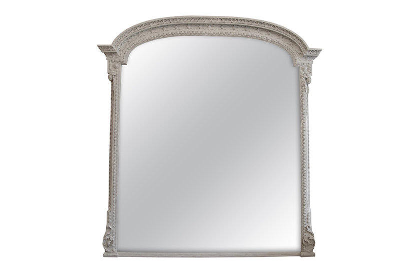 Very Large Overmantel Mirror