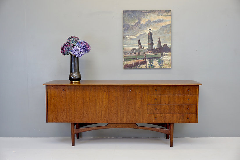 Dark Wood Sideboard by Dalescraft