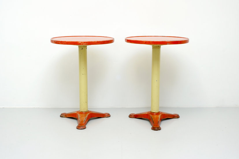 Pair of Bistro Tables