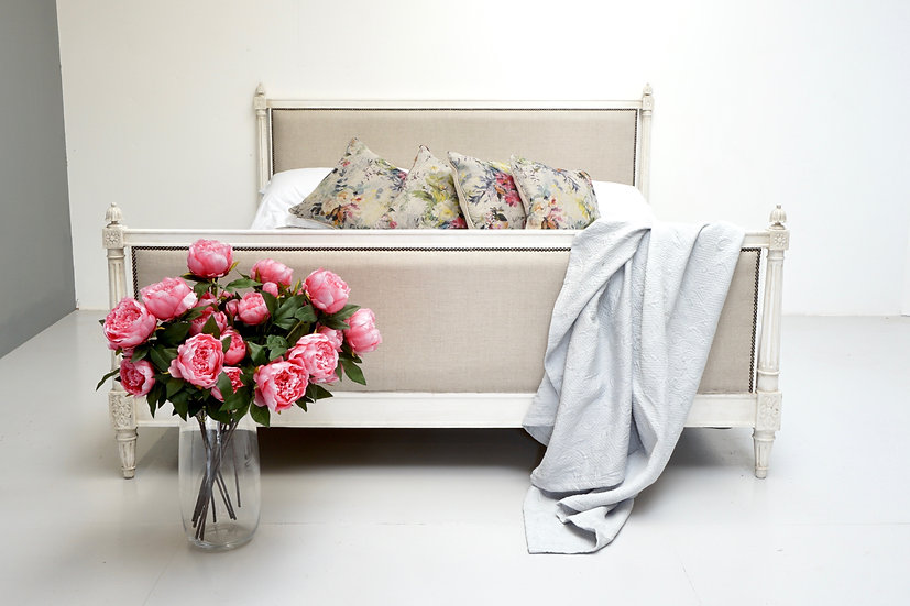 Painted French Bed