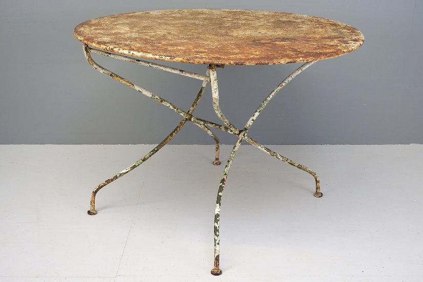 Circular Garden Table