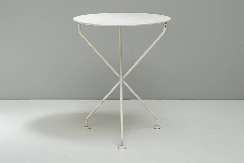 Circular Tripod Garden Table