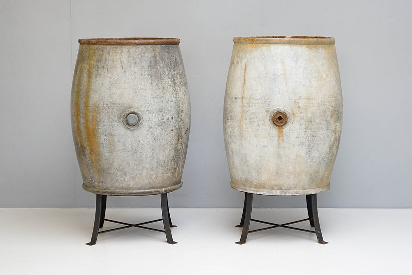 Pair of Barrels on Stands