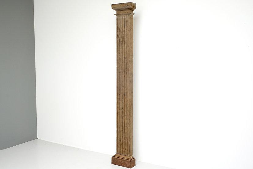 Single Oak Pilaster