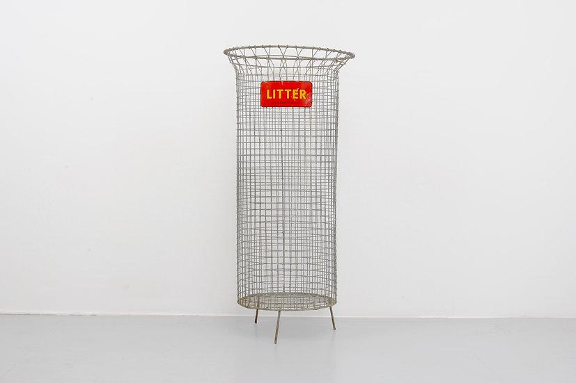 Metal Litter Bin