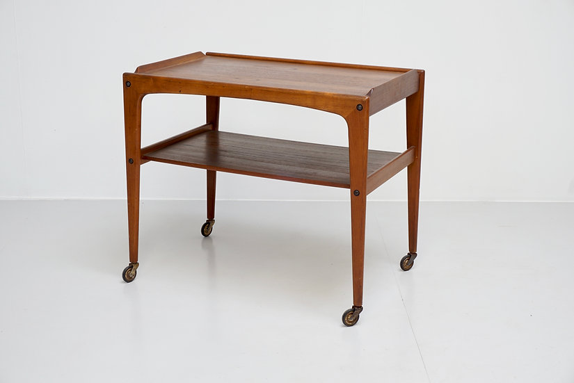 Rectangular Danish Elm Trolley